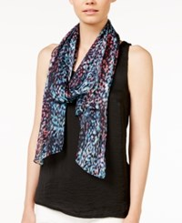 Calvin Klein Abstract Animal Crinkle Scarf Calvin Klein Abstract Animal Crinkle Scarf