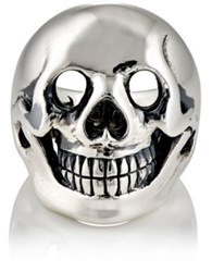 Good Art Hlywd Women's Skull Ring Silver