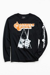Urban Outfitters Clockwork Orange Long Sleeve Tee Black