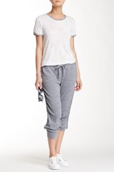Nation Ltd. Maggie Cropped Pant Gray