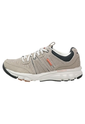 Skechers Bipedbig Ticket Trainers Taupe Orange