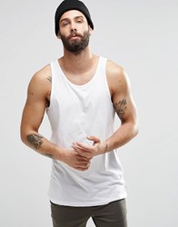 Only And Sons Only And Sons Skater Fit Vest White