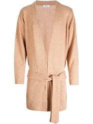 En Route Belted Cardi Coat Brown