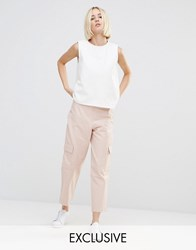 House Of Sunny Combat Trousers Co Ord Lust Pink
