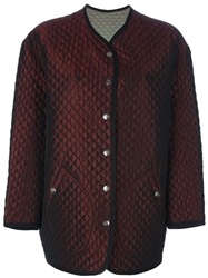 Jean Paul Gaultier Vintage Quilted Jacket Red