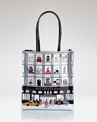 Bloomingdale's Tote Little Store Front Bag Multi