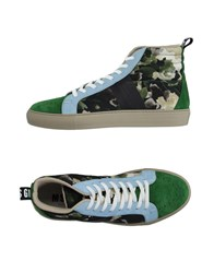 Msgm Footwear High Tops And Trainers Men Light Green