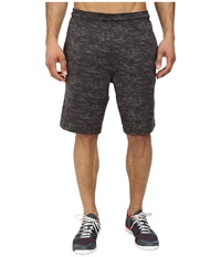 Adidas Team Issue Fitted Short Black Heather Black Men's Shorts