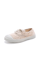 Bensimon Tennis Broderie Anglaise Sneakers Powder