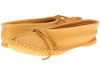 Manitobah Mukluks Deerskin Slipper Solid Design Tan Women's Slippers