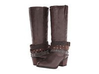 Durango Philly 14 W Detachable Ankle Straps Brown Cowboy Boots