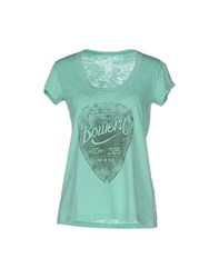 Bowery Topwear T Shirts Women Light Green