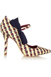Tory Burch Beverly Printed Canvas Pumps