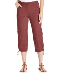 Styleandco. Style Co. Cropped Cargo Pants Only At Macy's Terracota