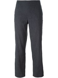Dolce And Gabbana Vintage Cigarette Trousers Blue