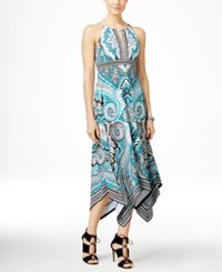 Inc International Concepts Petite Printed Maxi Dress Only At Macy's Couture Pasiley