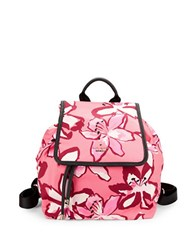 Kate Spade Molly Nylon Mini Backpack Coral Multi