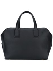 Loewe Zip Up Tote Bag Black