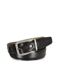 Moreschi Lione Brown Peccary And Leather Belt