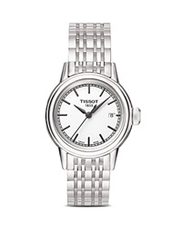 Tissot Stainless Steel Carson Watch 29.5Mm White