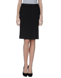 Moschino Cheap And Chic Moschino Cheapandchic Knee Length Skirts Black
