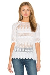 Ulla Johnson Sadie Blouse White