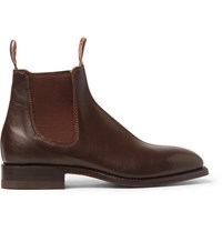R.M.Williams Craftsman Leather Chelsea Boots Brown