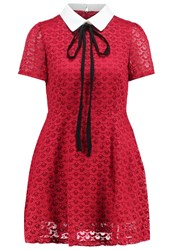 Sister Jane Tuesday Swing Summer Dress Red