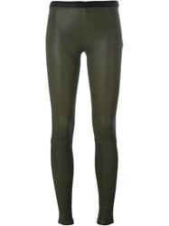 Ash 'Player' Leggings Green