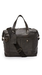 Nixon Calle Leather Briefcase Black
