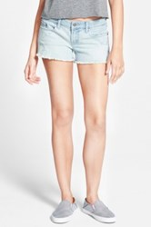 Bp 'Frey' Denim Shorts Juniors Blue
