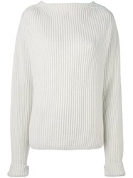 Forte Forte Ribbed Jumper Nude And Neutrals