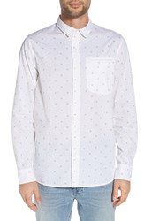Tavik Men's 'Porter' Print Woven Shirt White Dot