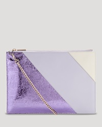 Whistles Clutch Bloomingdale's Exclusive Rivington Lilac