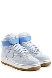 Nike Airforce 1 Suede High Top Sneakers Blue