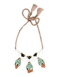 Hoss Intropia Necklaces Light Green