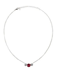 Cz By Kenneth Jay Lane Necklaces Silver