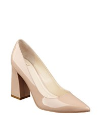 Marc Fisher Jenny Patent Leather Pumps Light Pink