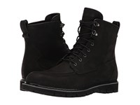 Timberland Britton Hill Waterproof Moc Toe Boot Black Nubuck Men's Waterproof Boots