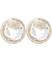 Ippolita Silver Clear Quartz Stud Earrings