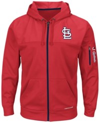 Majestic Men's St. Louis Cardinals Payback Moment Full Zip Hoodie Red
