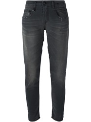 R 13 R13 Cropped Jeans Grey
