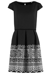Naf Naf Laraba Summer Dress Noir Black