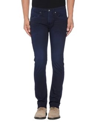 Uniform Casual Pants Dark Blue