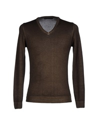 Massimo Rebecchi Sweaters Military Green
