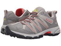 Montrail Mountain Masochist Iii Dove Poppy Red Women's Shoes Gray