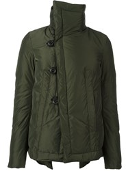 Dsquared2 Standing Collar Puffer Jacket Green