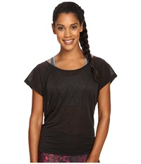 Lole Beth Short Sleeve Top Black Women's Short Sleeve Pullover