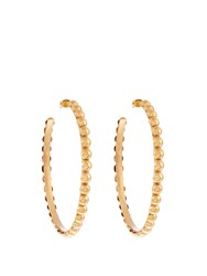 Sylvia Toledano Tribal Large Gold Plated Earrings