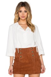 Trina Turk Sedona Top White